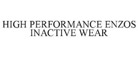 HIGH PERFORMANCE ENZOS INACTIVE WEAR