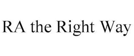 RA THE RIGHT WAY