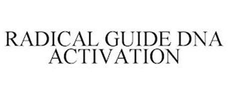 RADICAL GUIDE DNA ACTIVATION