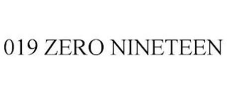 019 ZERO NINETEEN