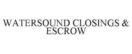 WATERSOUND CLOSINGS & ESCROW