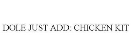 DOLE JUST ADD: CHICKEN KIT