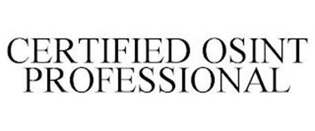 CERTIFIED OSINT PROFESSIONAL