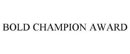 BOLD CHAMPION AWARD