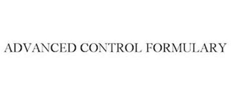 ADVANCED CONTROL FORMULARY