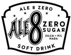 ALE 8 ZERO ALE 8 ZERO SUGAR ZILCH NIL NADA SOFT DRINK