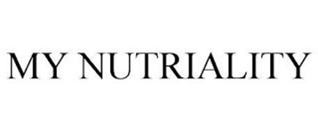 MY NUTRIALITY
