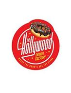 THE HOLLYWOOD DONUT FACTORY WHERE THE DONUTS ARE THE STARS