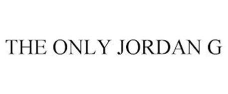 THE ONLY JORDAN G