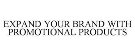 EXPAND YOUR BRAND WITH PROMOTIONAL PRODUCTS
