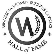 MINNESOTA WOMEN BUSINESS OWNERS HALL OF FAME