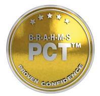 B·R·A·H·M·S PCT PROVEN CONFIDENCE