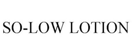 SO-LOW LOTION