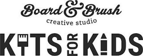 BOARD & BRUSH CREATIVE STUDIO KITS FOR KIDS