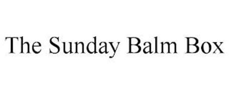 THE SUNDAY BALM BOX