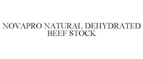 NOVAPRO NATURAL DEHYDRATED BEEF STOCK
