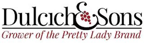 DULCICH & SONS GROWER OF THE PRETTY LADY BRAND