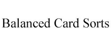 BALANCED CARD SORTS
