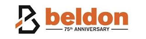 B BELDON 75TH ANNIVERSARY