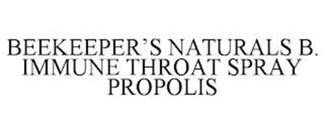 BEEKEEPER'S NATURALS B. IMMUNE THROAT SPRAY PROPOLIS
