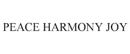 PEACE HARMONY JOY
