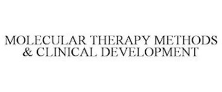MOLECULAR THERAPY METHODS & CLINICAL DEVELOPMENT