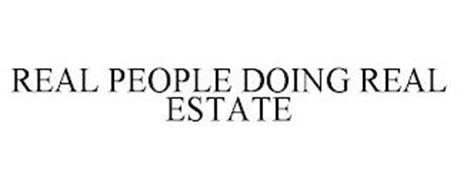 REAL PEOPLE DOING REAL ESTATE