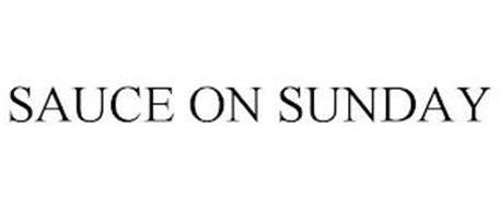 SAUCE ON SUNDAY