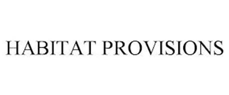 HABITAT PROVISIONS