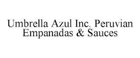 UMBRELLA AZUL INC. PERUVIAN EMPANADAS & SAUCES