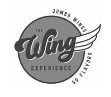 THE WING EXPERIENCE JUMBO WINGS 50 FLAVORS