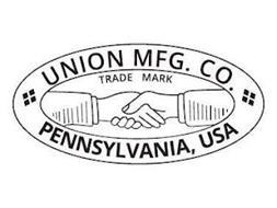 UNION MFG. CO. TRADE MARK PENNSYLVANIA USA