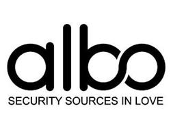 ALBO SECURITY SOURCES IN LOVE