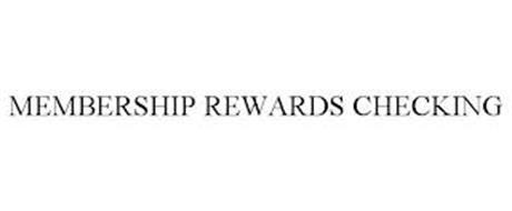 MEMBERSHIP REWARDS CHECKING