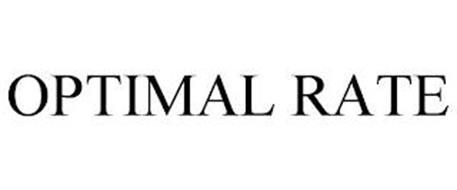 OPTIMAL RATE