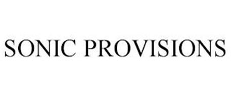 SONIC PROVISIONS