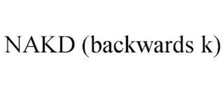 NAKD (BACKWARDS K)