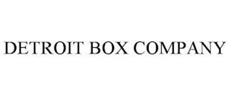 DETROIT BOX COMPANY
