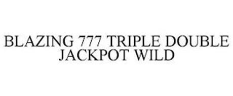 BLAZING 777 TRIPLE DOUBLE JACKPOT WILD