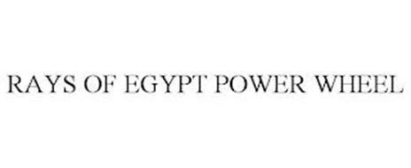 RAYS OF EGYPT POWER WHEEL