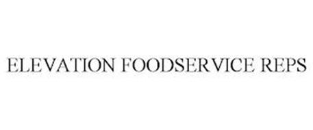 ELEVATION FOODSERVICE REPS