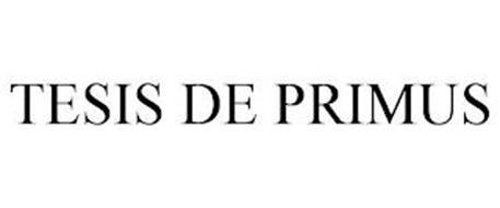 TESIS DE PRIMUS