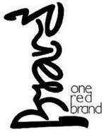 BRAND ONE RED BRAND