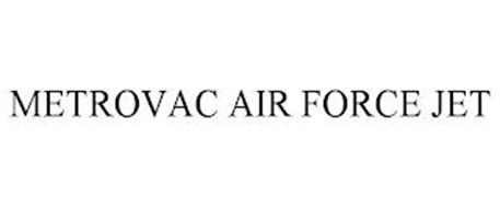 METROVAC AIR FORCE JET