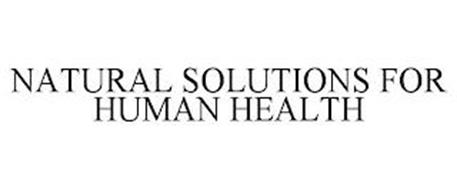 NATURAL SOLUTIONS FOR HUMAN HEALTH