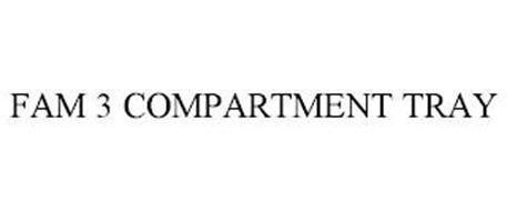 FAM 3 COMPARTMENT TRAY