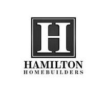 H HAMILTON HOMEBUILDERS