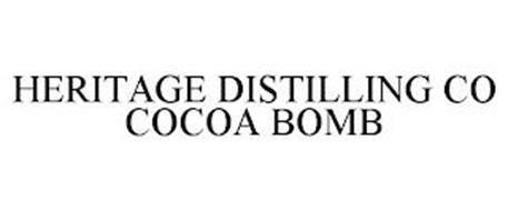 HERITAGE DISTILLING CO COCOA BOMB