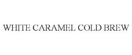 WHITE CARAMEL COLD BREW