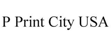 P PRINT CITY USA